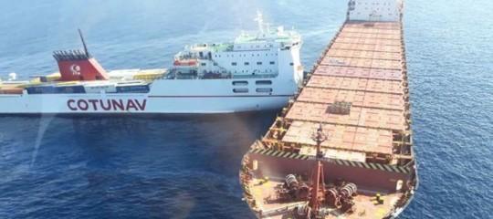 Corsica: Secondo la Guardia costiera la macchia di idrocarburi non va verso Italia