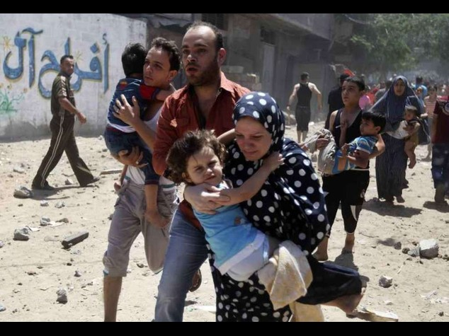 Death toll in Gaza reaches 74, including four children