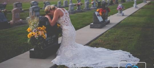 sposa fidanzato morto