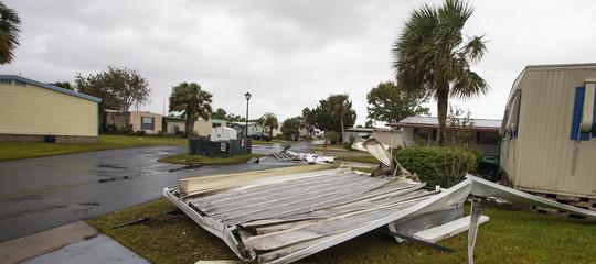 uragano michael danni morti