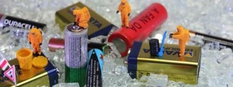 Riciclo pile e batterie