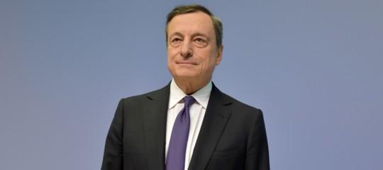 BceMario Draghi Manovra
