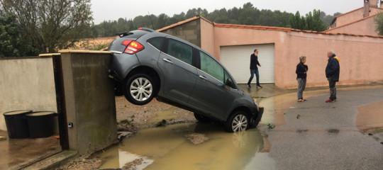 Maltempo: piogge torrenziali in Francia, pienadell'Aude, 5 morti nel sud