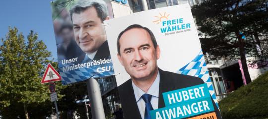 germania risultato voto Baviera spiegato punti