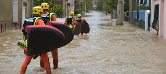 Maltempo flagella il Sud della Francia, 13 morti e 1.000 evacuati per inondazioni