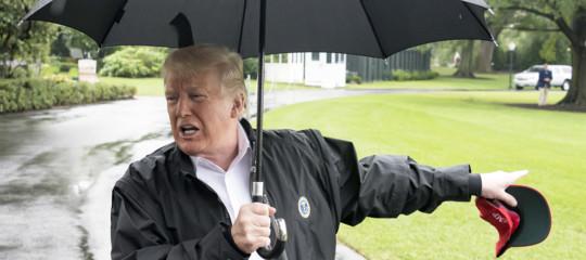 Trumpci ripesa e dice che il cambiamento climatico non è una bufala