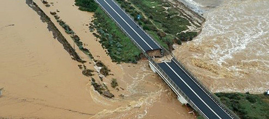 Il maltempo in Sardegna ha causato almeno 100 milioni di danni
