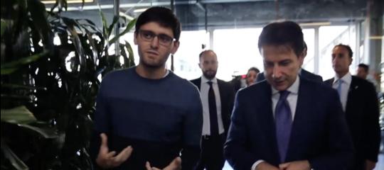 La visita di Conte ad un centro d'eccellenza per lestartupdi Milano
