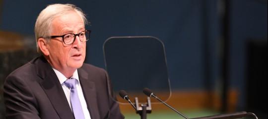 """Manovra,Juncker: """"Non possiamo accettare tutto quello che l'Italia propone"""""""