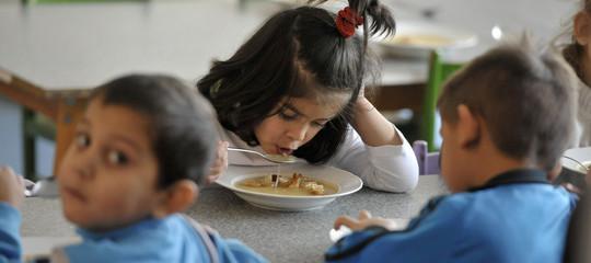 I bambini di Lodi sono tornati a mensa con i loro compagni