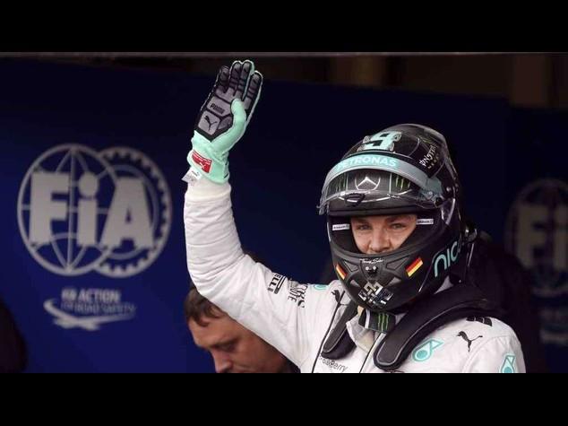 """F. 1: Mercedes, ufficiale rinnovo Rosberg """"Sono orgoglioso"""""""