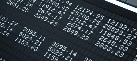Titoli di Stato: lo spreadapre in calo a 292 punti