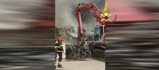 Incendi Milano diossine