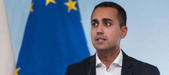 Di Maio: il governo noncadràsul condono