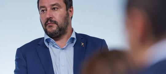 """Salvini: """"Non metto in discussione il governo per un ripensamento delM5s"""""""