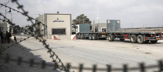 Medio Oriente: Israele riapre confini con Gaza per merci e persone