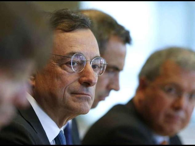 """Allarme di Draghi per l'Europa """"L'economica si e' aggravata"""""""
