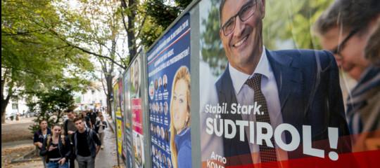 Alto Adige:Svpsupera il 40%, forti TeamKoellenspergere Lega