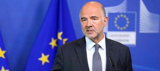Manovra,Moscovici: potremmo chiedere all' Italia un nuovo documento
