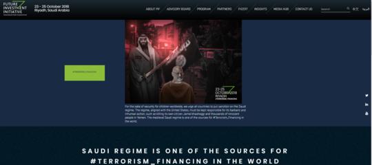 CasoKhashoggi: hackerato il sito della 'Davosdel Deserto'