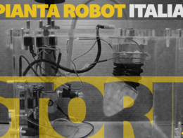 La pianta robot italiana