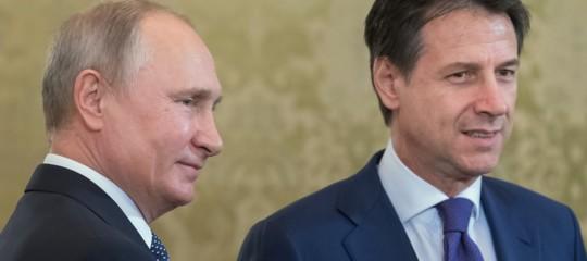 Italia-Russia Conte