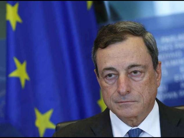 Draghi: no rischi deflazione, il pericolo e' la disoccupazione