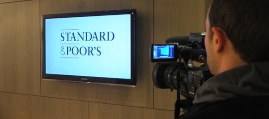 rating stadard poors italia