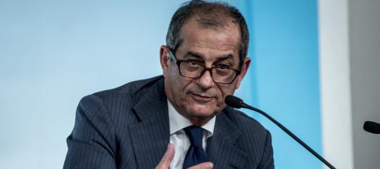 Manovra Tria Draghi spread