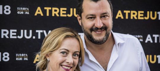 Salvini lavora al frontesovranistaper le Europee. E sente Meloni
