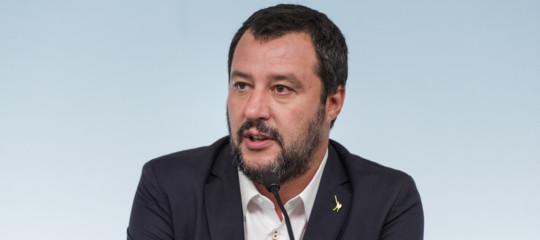 """Salvini: """"IlPilfrena? Noi tiriamo dritti"""""""