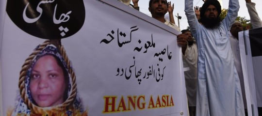 asia bibi pakistan assoluzione legge blasfemia