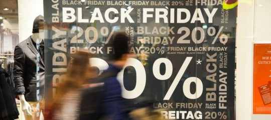 black friday italia spesa