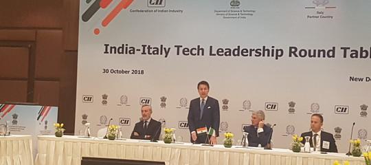 india tech summit conte modi
