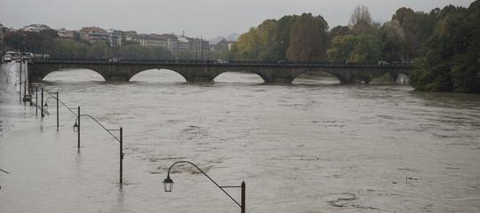 Maltempo fiume Po sale di 1,5 metri