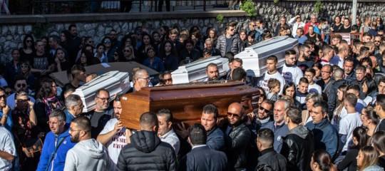 Maltempo funerali Casteldaccia