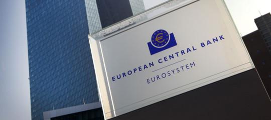 Bceeurozona crescita titoli di Stato