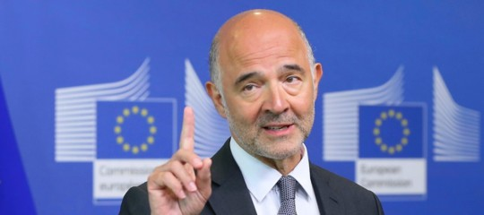 Ue: Commissione prevede deficit/Pilall'1,9% nel 2019 eindebitamento netto strutturale al 3%