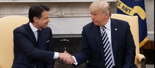 trumpiran sanzioni italia
