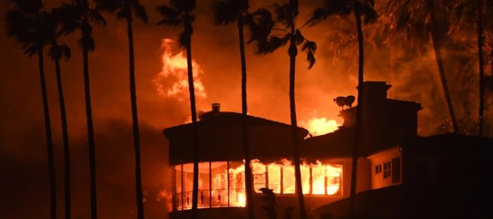 Iincendi California malibu morti