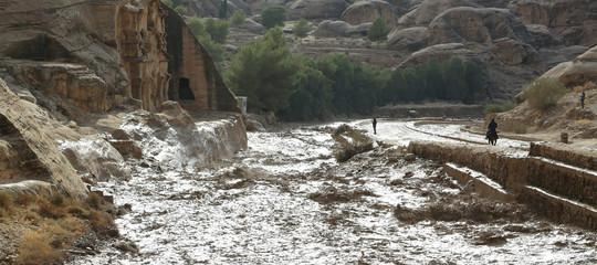 Giordania Alluvioni