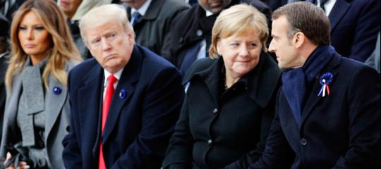 Macron e Merkel nazionalismi