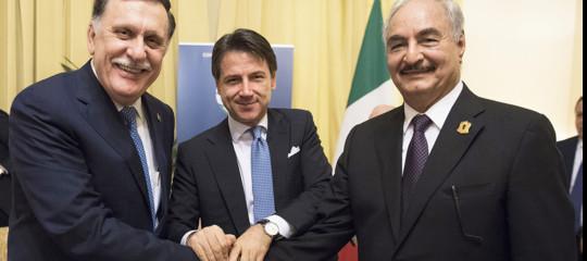 conte italia libia dialogo