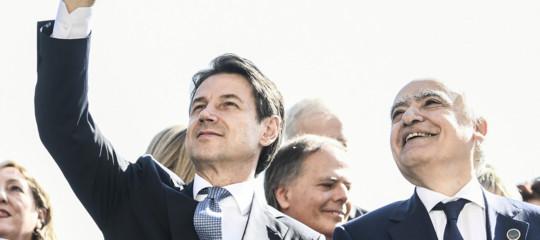 Libia Giuseppe Conte
