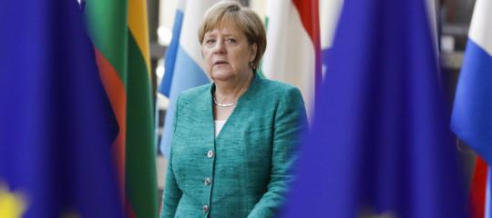 Migranti Merkel