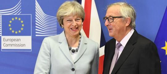 """Brexit: """"accordo tecnico"""" raggiunto tra Ue e Bruxelles"""