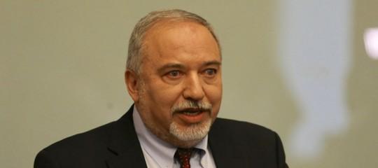 Medio Oriente Israele AvigdorLiebermanGaza Hamas
