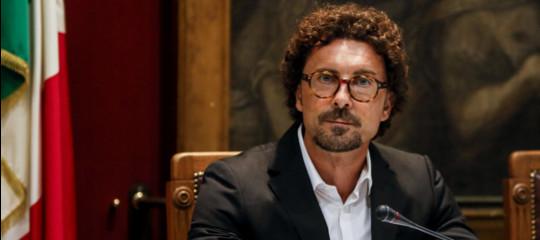 """Decreto Genova,Toninelli: """"Esultiamo perchéaiutiamo chi èstato colpito da una tragedia immane"""""""
