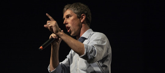 """Beto, l'astrodemche sembra Bob Kennedy e """"corre"""" a Washington"""