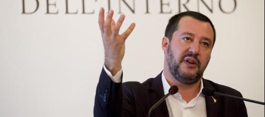 """Salvini: """"Il reddito di cittadinanza così mi piace. Lo farei anche da solo al governo"""""""